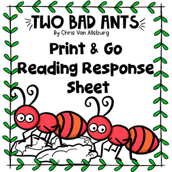 Two Bad Ants Reading Response