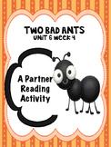 Two Bad Ants  Reading Street 3rd grade Partner Read center