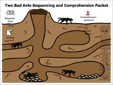 Two Bad Ants Sequencing and Comprehension Packet