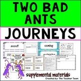 Two Bad Ants | Journeys Third Grade Unit 5 Lesson 21 Printables