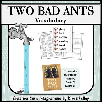 Two Bad Ants - Vocabulary