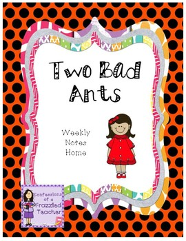 Two Bad Ants Weekly Letters (Scott Foresman Reading Street)