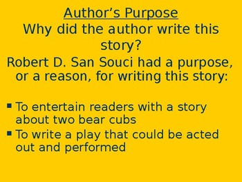 Two Bear Cubs - Genre & Purpose