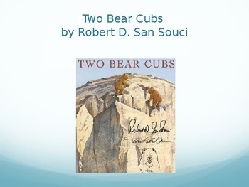 Two Bear Cubs Interactive Vocabulary Lesson, Journeys Lesson 19