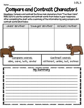 Two Bear Cubs (Journeys Supplemental Materials)