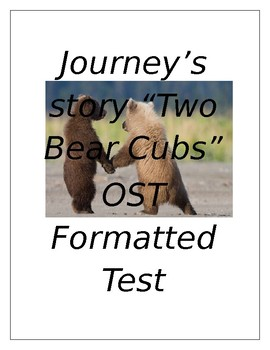 Two Bear Cubs OST formatted test