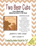Two Bear Cubs Mini Pack Activities 3rd Grade Journeys Unit 4, Lesson 19