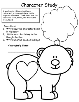 Two Bear Cubs Supplemental Activities 3rd grade Journey's Unit 4, Lesson 19