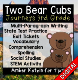 Two Bear Cubs Ultimate Pack: Third Grade Journeys