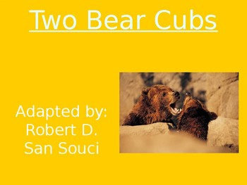 Two Bear Cubs - Vocabulary