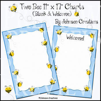 "Two Bee 11"" x 17"" Charts"