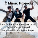 Two Best Sellers: Music Career Jump and Commercials and Music Projects