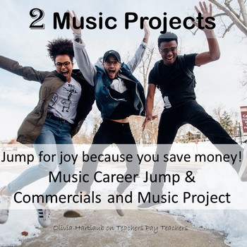 Two Best Sellers: Music Career Jump and Commercials and Mu