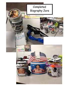 Two Biography Jar Book Reports