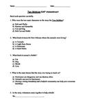 Two Bobbies Book Unit Assessment