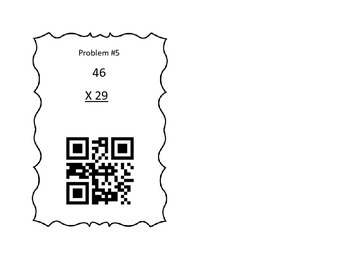 Two-By-Two Multiplication Using QR Codes
