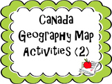 Two Canadian Geography Activities