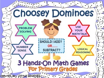Problem Solving Math Games For Primary Grades