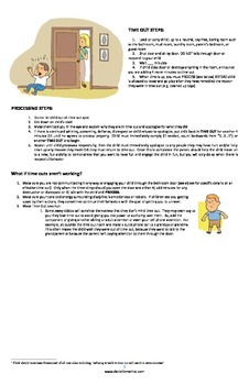 Two-Choice Behavior Plan Poster