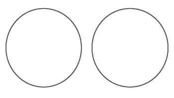 Two Circles Paper Landscape Orientation by Graphic Organizer Land
