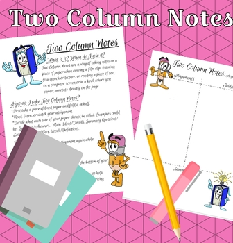 Two Column Notes: A How-to