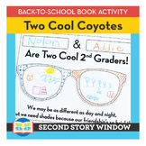 Two Cool Coyotes • Back to School Book Companion Activity