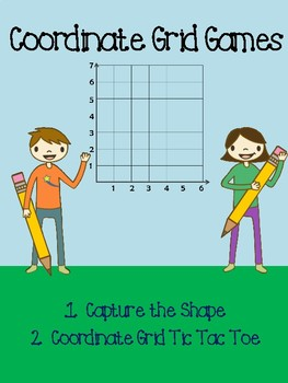 Two Coordinate Grid Games In One!