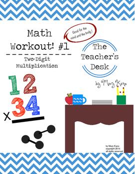 Two-Digit Addition Math Workout!