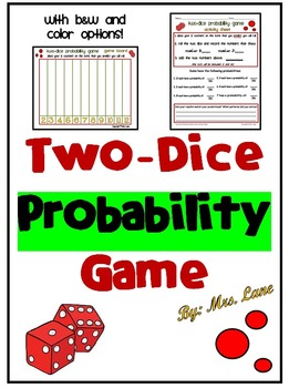 Two-Dice Probability Game