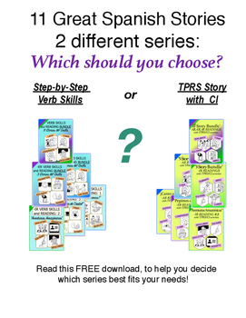 Two Different Spanish Story Series: Which is Best For You?