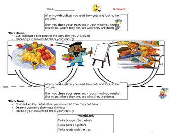 "Two Differentiated Activity Sheets for Wonders Story ""Cool Dog, School Dog"""