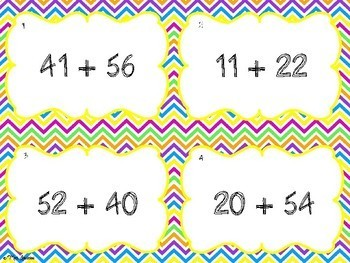 Two Digit Addition Activity