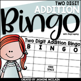Two Digit Addition Bingo (with regrouping)