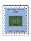 Two-Digit Addition Cards!