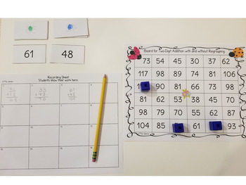 Two-Digit Addition Game