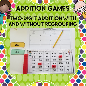 Two-Digit Addition Games 2