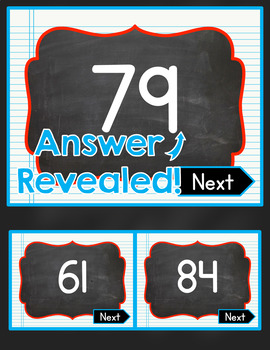 Two Digit Addition Interactive PowerPoint