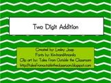 Two Digit Addition Lesson Plan Bundle