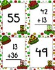 Two-Digit Addition Matching Christmas Game (no regroup!)