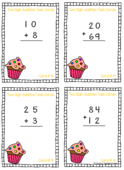 Two Digit Addition - No Regrouping