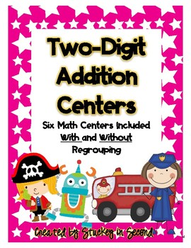 Two Digit Addition Packet