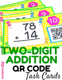 Two-Digit Addition QR Code Fun (With and Without Regrouping)