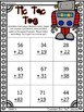 Two-Digit Addition, Regrouping, Tic Tac Toe, Addition, Mat