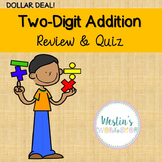 Two-Digit Addition -Review & Quiz