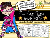 Two-Digit Addition Riddlers