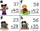 Two Digit Addition SCOOT (With Regrouping)