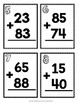 Two Digit Addition Scavenger Hunt: 20 Addition with Regrouping Task Cards