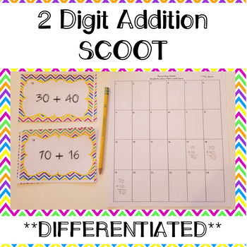 Two Digit Addition Scoot