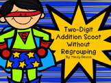 Two Digit Addition Scoot Without Regrouping
