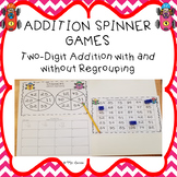 Two Digit Addition Spinner Games 1
